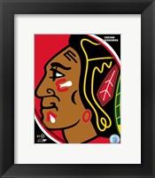 Framed Chicago Blackhawks 2011 Team Logo