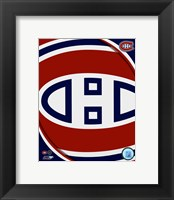 Framed Montreal Canadiens 2011 Team Logo