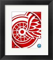 Framed Detroit Red Wings 2011 Team Logo