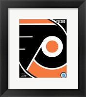 Framed Philadelphia Flyers 2011 Team Logo