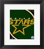 Framed Dallas Stars 2011 Team Logo
