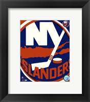 Framed New York Islanders 2011 Team Logo