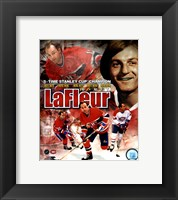 Framed Guy LaFleur 2011 Portrait Plus