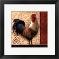 Framed French Rooster II