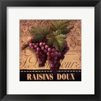 Framed Sweet Grapes