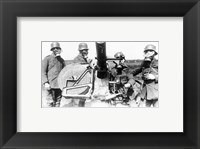 Framed German Soldiers 1915