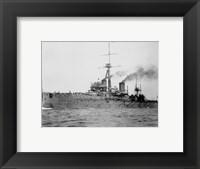 Framed HMS Dreadnought 1906 H61017