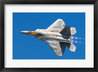 Framed Lockheed Martin F-22A Raptor JSOH