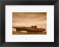 Framed U - Boat U534