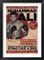 Framed Muhammad Ali - Vintage