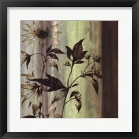Framed Painted Botanicals I