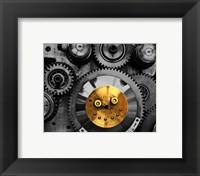Framed Smiling Gear