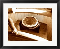 Framed Classic Nautical Compass