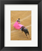 Framed Matador Bullfight