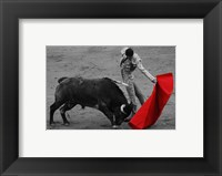 Framed Red Matador II