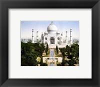 Framed Taj Mahal 1890