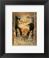 Framed Merry Maidens