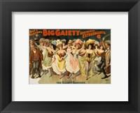 Framed Gaiety Dancers