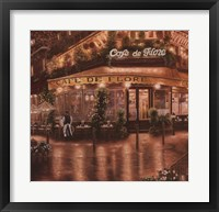 Framed Cafe De Flore