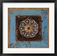 Excotic Medallion I Framed Print