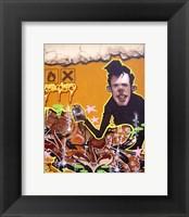 Framed Graffiti Portrait