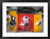Framed Graffiti in Valencia