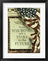 Framed Your War Bonds are at Stake in the Future