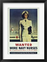 Framed Wanted! More Navy Nurses