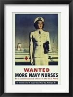 Framed Wanted! More Navy Nurses