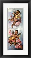 Framed Black Cherubs