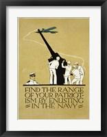 Framed Find the Range of Your Patriotism