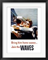 Framed Bring Him Home Sooner Join the Waves