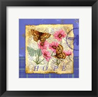 Framed Papillion Plaid III