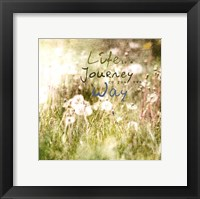 Blossoming Inspiration IV Framed Print