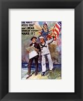 Framed Don't Read American, History Make It!