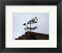 Framed Weathervane, Upper Mannington