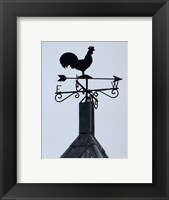 Framed Weathervane, The Church of St Peter and St Mary