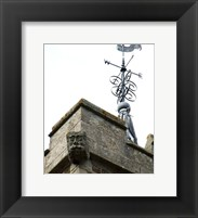Framed Weathervan on the Church of St Mary, Horncastle