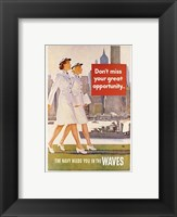 Framed Waves Recruiting Poster