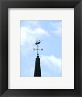 Framed Sailing Ship Weathervane