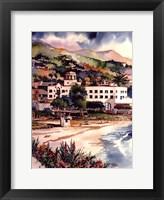 Framed Hotel Laguna