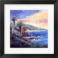 Laguna Coast Framed Print
