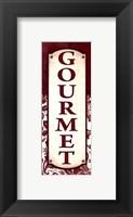 Gourmet Framed Print