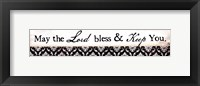 May The Lord Framed Print