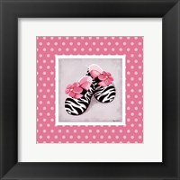 Wild Child Dress Shoes Framed Print
