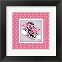 Wild Child High Tops Framed Print