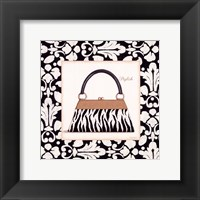 Stylish Purse Framed Print