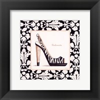 Fashionista Shoe Framed Print
