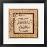 Hold Me Grandma Framed Print