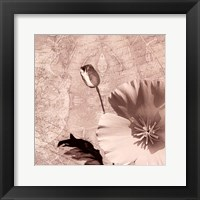 Vintage Rose I Framed Print